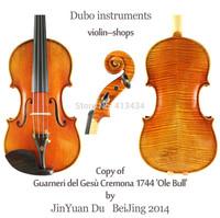 "Copy of Guarneri 1744 'Ole Bull' 4/4 Violin ""All European Wood"" M7138"