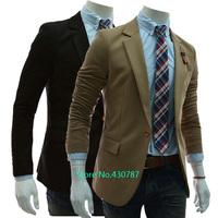 New spring and autumn men's fashion one button suit leisure suit men
