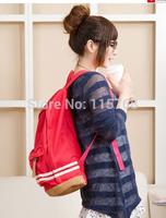 New Hot Girl Women Cute Pig Nose Backpack Student School Bag Canvas bag Travel Rucksack Korean