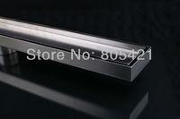 Free shipping 304 Stainless Steel Tile insert linear floor drain  shower drain quick drian ML1200