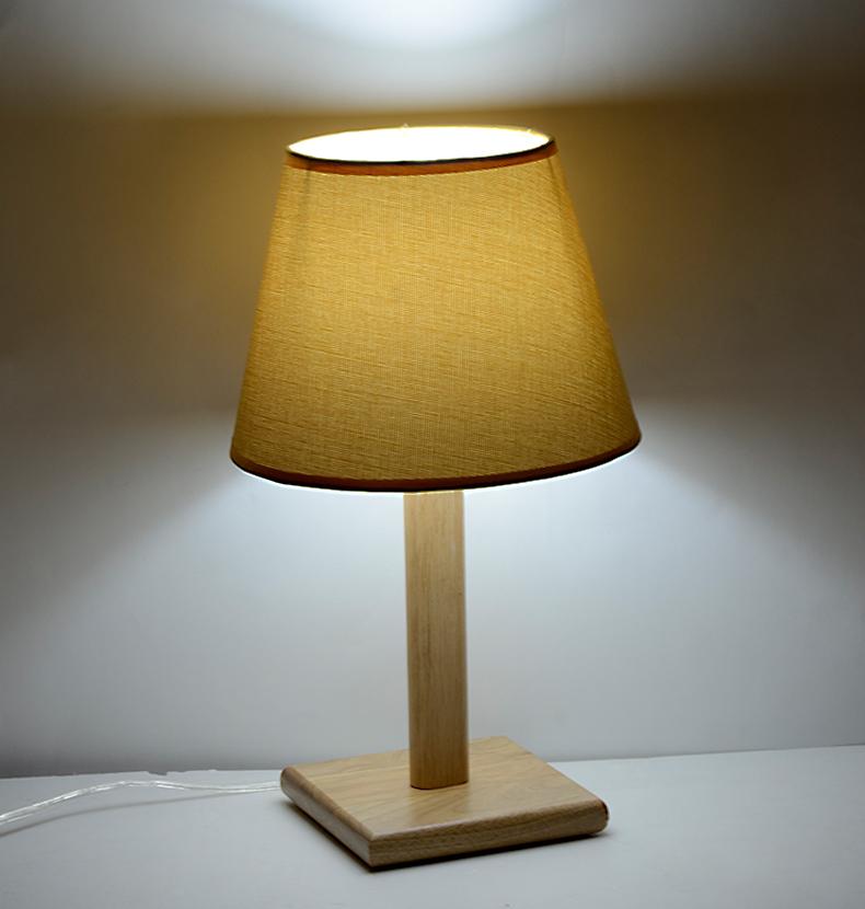 Netmodern Bedroom Lamp : 2014 new modern minimalist bedroom bedside lamp IKEA wood den ...