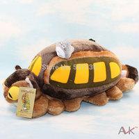 Japan's Hayao Miyazaki anime pet chinchillas large tram bus plush doll toy pillow cushions furnishings
