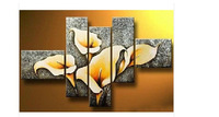 100% Handpainted 5 Piece Oil Painting On Canvas Picture Home Decor Pictures On The Wall Art Home Decoration Paintings