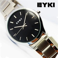 EYKI 2014 New Fashion Designer Sports Casual Brand Watch Quartz Watches For Men Stainless Steel WristWatch