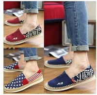 Summer men's casual shoes Korean men shoes breathable shoes lazy shoes driving shoes