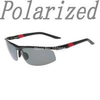 2014 Hot Sale  Sport Male sunglasses polarized sun glasses aluminum 100% magnesium alloy Polaroid Sunglasses Drving Sunglasses