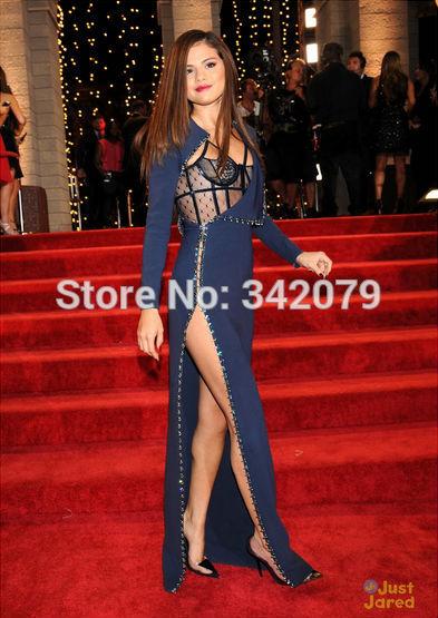Ph07710 mtv video music awards selena gomez abiti da red carpet blu