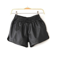 New Stylish Women Stretchy Waist Puffy Lounge Wear Mini Shorts
