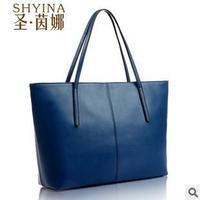 New 2014 Fashion Women handbag Genuine leather handbag 100% Natural cowhide Handmade bags High quality leather Free shipping