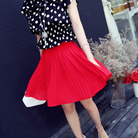 Small fashion summer 2014 normic solid color all-match culottes k7110
