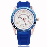CURREN Man Quartz Calendar Watches,Military Movement Waterproof Wristwatch