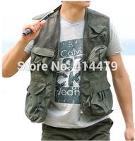summer uniforms Fishing vests Mesh waistcoat