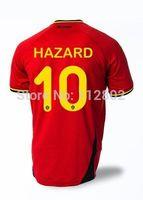 Belgium HAZARD Home Soccer Jersey 2014
