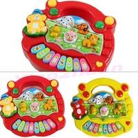 Boys & Girls Useful Popular Baby Kids Farm Animal Piano Music Developmental Toy