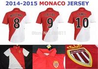 14 15 Monaco Jersey Home Away Monaco 2014  2015 Football Shirt Training Uniform Soccer Jerseys Embroidery LOGO