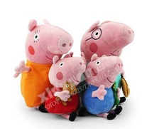 Peppa pig/ plush toys / Pepe George father and mother / child doll