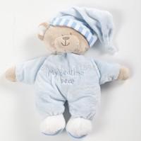 1 pc 30cm Cartoon sleeping Bear toys plush dolls my bedtime bear Plush Toy High quality Toys kids children gift free shipping