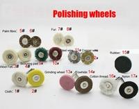 Free Shipping A variety of polishing wheels,Can be arbitrarily chosen
