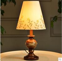 2014 fashion modern minimalist bedroom bedside lamp IKEA Abajur pastoral creativity dimmer lighting 2pcs / pack