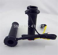 "ADJUSTABLE MOTORCYCLE HEATED GRIPS FOR MOTORBIKE/BIKE HANDLEBAR HOT/WARM HANDS 7/8"" 22mm"