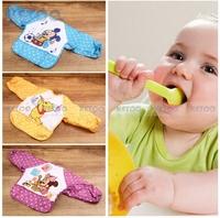 Cute Cartoon Children Baby Waterproof Long Sleeve Bib Apron for baby self feeding Brand New