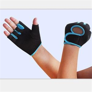 2014 New Sport Exercise Fitness Gloves GYM Half Finger Weight lifting Gloves Training Accessories M Size