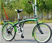 2x14-20-inch disc brakes folding bike 6 speed transmission car u8 bike cycling road vehicles lady student