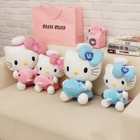 30cm Hello Kitty Plush Toy, Hello Kitty Doll, Plush Kityy,  Christmas Gift Factory Supply The Best Price Free Shipping