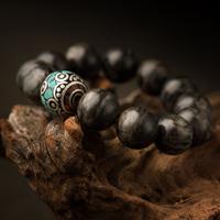 High Quality Wholesale bangle 16 mm natural precious stone charming Nephrite Buddha Circulation bracelet Jhe ades Identification