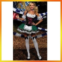 ATWC-001 Free Shipping!  Halloween witch costume dress female cafe attendant Oktoberfest beer costumes maid outfit  sexy costume