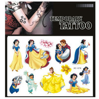 (Less than 4 pieces, no tracking)A19477 wholesales cheap drop sales tattoo  one-time factory sexy Tattoo Stickers