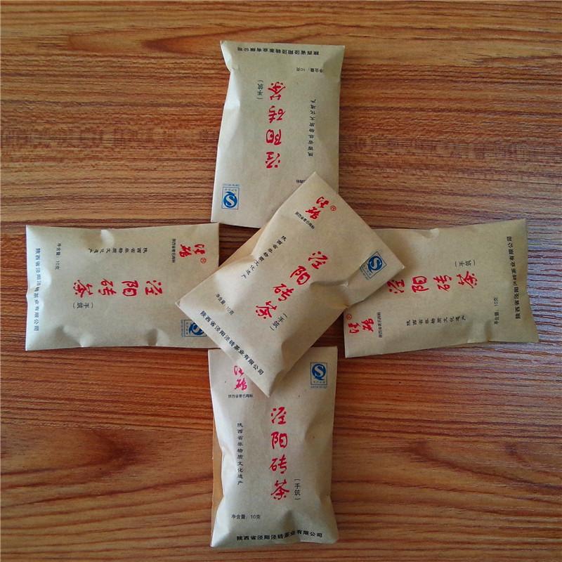 A press?o arterial elevada chá pode obter o controle ! Sacos de cerveja 10individual , chá artesanal de tijolos , feitos em Jingyang , Shaanxi provice , China(China (Mainland))