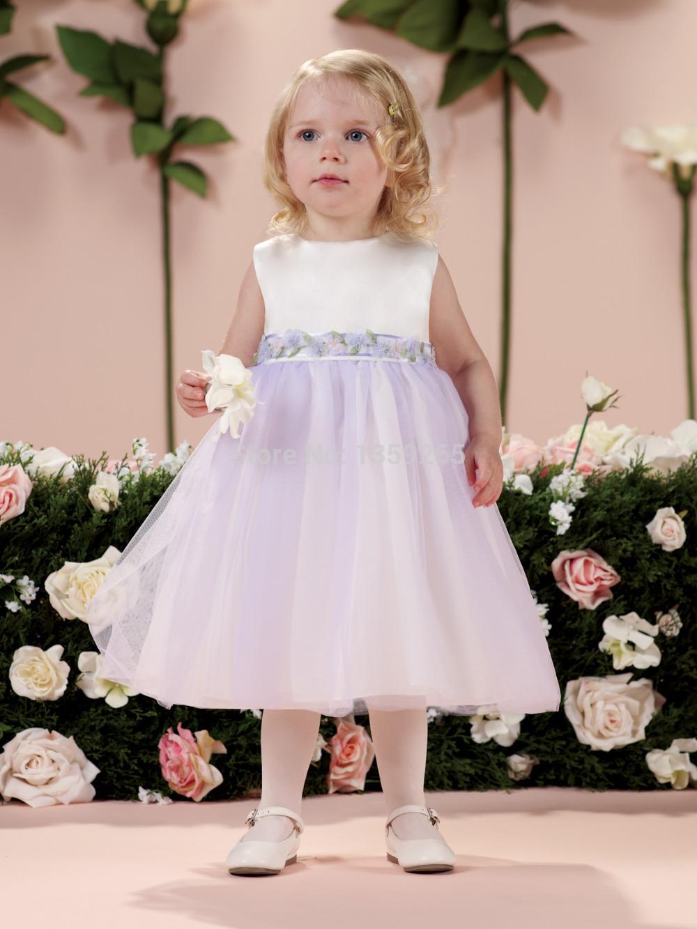 Cheap Toddler Flower Girl Dresses - White Pants 2016