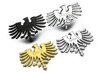 1PC High Quality 3D Metal Phoenix Totem Eagle Decoration Emblem Auto Body Grille Stickers