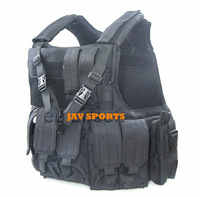 MAR CIRAS Full And Quality Standard Version Tactical Vests In Black+Free shipping(SKU12050339)