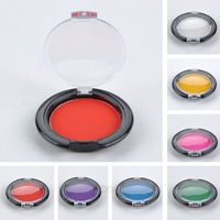 7 Colors Temporary Hair Color Chalk Compact Pressed Powder For Hair Rub Free Shipping FMPJ191#S5