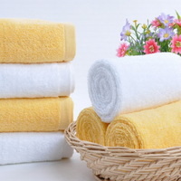 Zero Profit For Quantity Of Sale!! A Pack = 5 Pieces Towels, High Quality 100% Cotton Washcloth with Size of 32cm * 72 cm