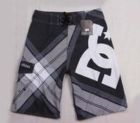 Retail spring 2014 shorts men swimwear beach swim surf short pants Quick-drying fashion board shorts boardshorts bermuda Silver