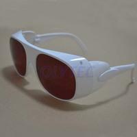 ND YAG 532nm & 1064nm Laser Safety Glasses, O.D 4  White style Frame