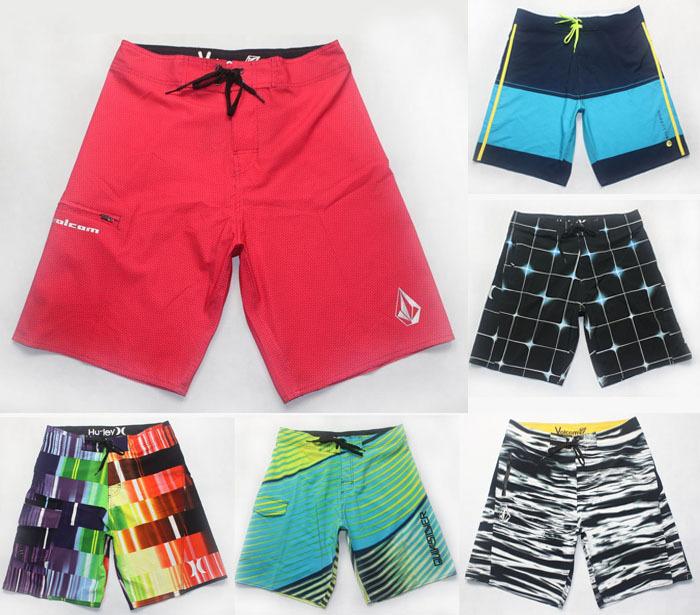 Retail Mix spring new arrive 2015 mens male's Swimwear Bermuda Shorts Board Shorts Boardshorts Beach Surf Shorts Elastic wea