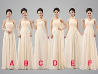 2014 Cheap Pleated And Criss Cross Sweetheart A-Line Floor-Length Chiffon Bridesmaid Dresses