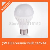 Hot sale bright 7W LED ceramic bulb e27 ball ceramic lamp full eye eco-friendly screw-mount bulb,700lm