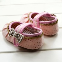 Girls Shoes Todder pre-walker shoes infant baby girl prewalker flower soft sole shoes Baby shoes Free shipping