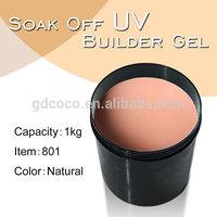 ibd builder gel natural color CANNI  camouflage  uv gel nail kg 801W