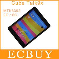 "Origoriginal 9.7"" Cube Talk9x U65GT 3G Phablet Phone Call Tablet PC GPS MTK8392 Octa Core Cortex A7 up to 2.0GHz 2GB 16GB"