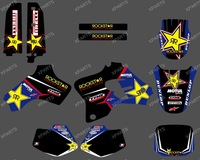0209 New style  star TEAM  GRAPHICS&BACKGROUNDS DECALS STICKERS Kits for YAMAHA YZ80 1993-2001