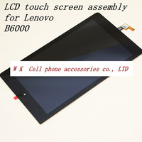 8 inch Original For Lenovo YOGA TABLET B6000 Lcd Display Touch Screen Digitizer Assembly black colour free shipping
