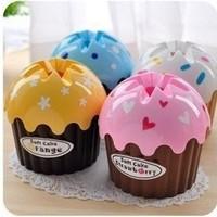 delicious cake ice cream fight plastic tissue box Tissue creative colorful cartoon tissue box