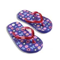 Retail 1 pcs 2014 summer children's slippers kinds of designs kids girls and boys flat slippers LittleSpring GTJ-X0231