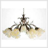 Fashion lighting wrought iron pendant light rustic lamps and flowers living room lights bedroom lamp restaurant lamp living room